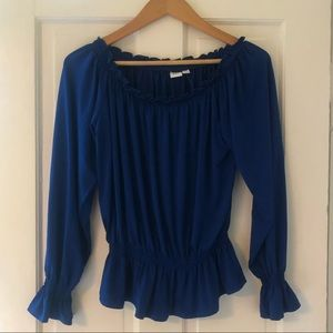 NWT Gap Royal Blue Shirt